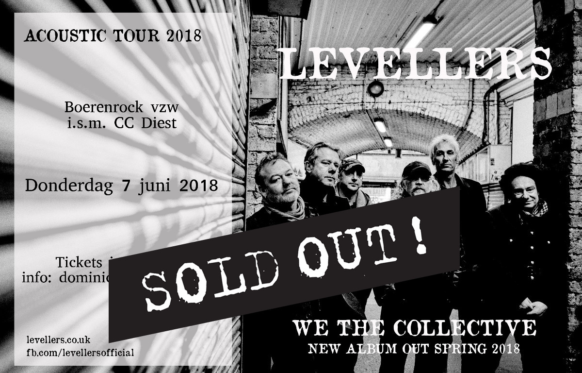 The levellers Boerenrock CC Diest