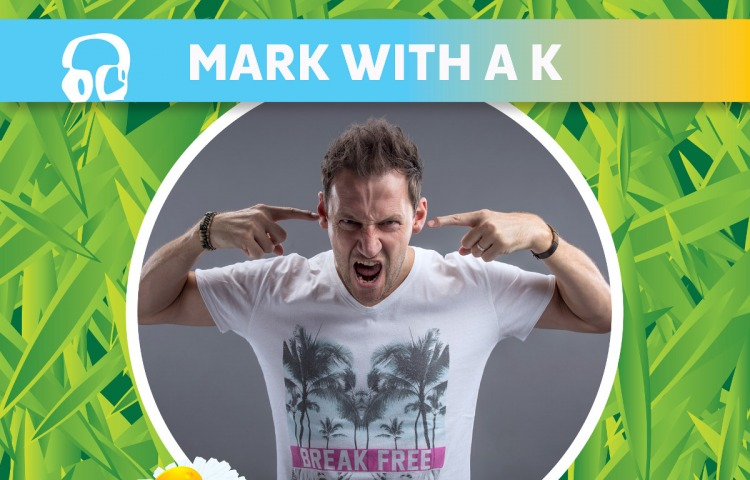 Mark With a K op boerenrock