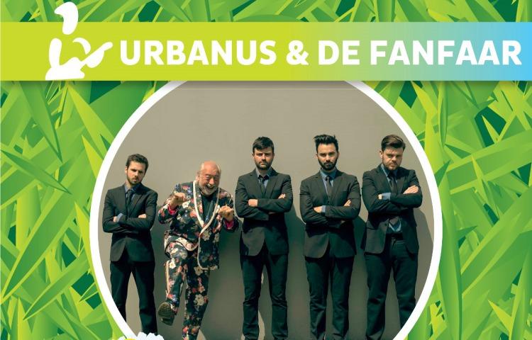 Urbanus & de fanfaar op boerenrock